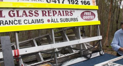 Mobile Glass Repairs Truck Brisbane